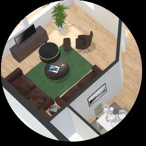 Premium 3D floor plan